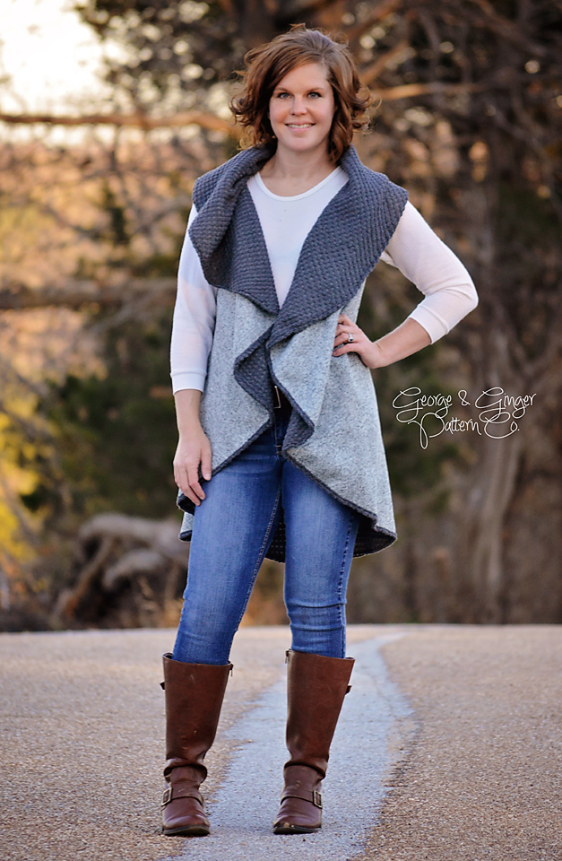 Everyday Circle Vest Free Pattern